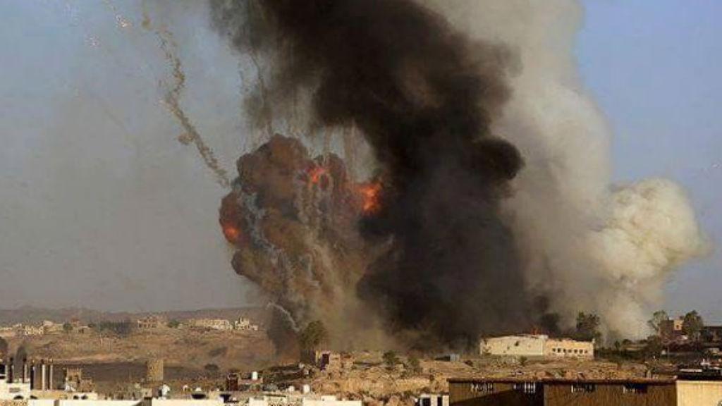 Iran accuses Saudi Arabia of air strikes on its Yemen embassy