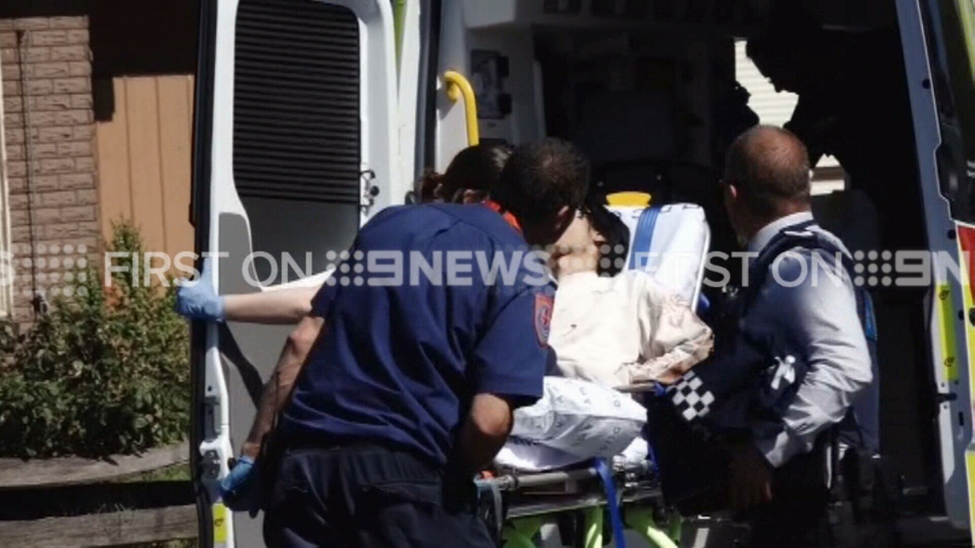Two men and two women suffered stab wounds in the attack. (9NEWS)