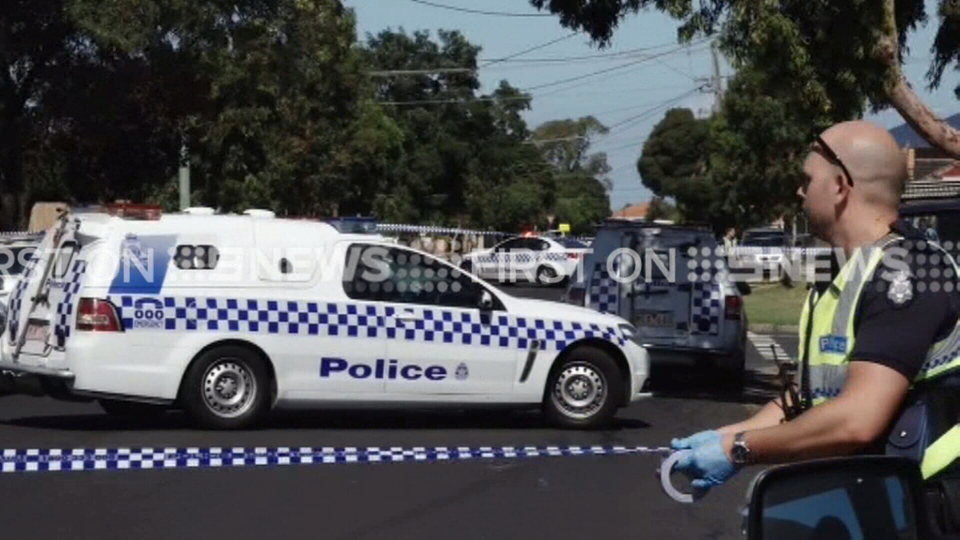 A neighbour reported hearing screams around the time of the incident. (9NEWS)
