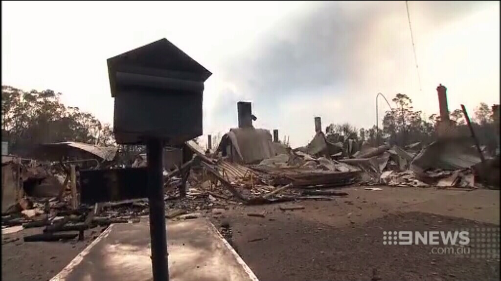 More than 140 buildings have been destroyed. (9NEWS)