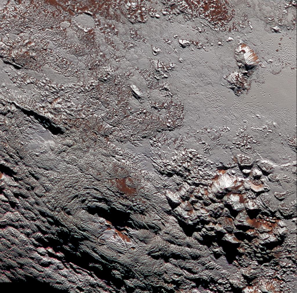 New Horizons photo reveals possible 'ice volcano' on Pluto