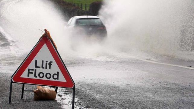 Welsh town Eglwyswrw has had rain for 81 consecutive days