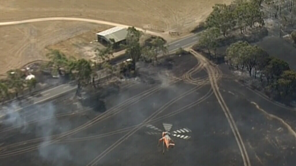 At least one structure is believed to have been lost. (9NEWS)