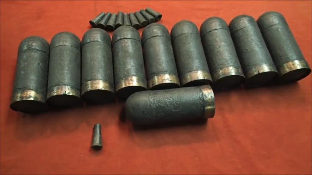 Artillery shells. (YouTube/Aquachigger)