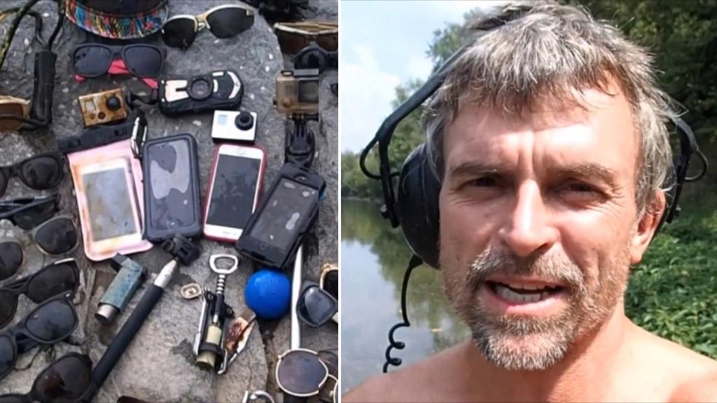 US relic hunter reveals wonders lying hidden in everyday rivers