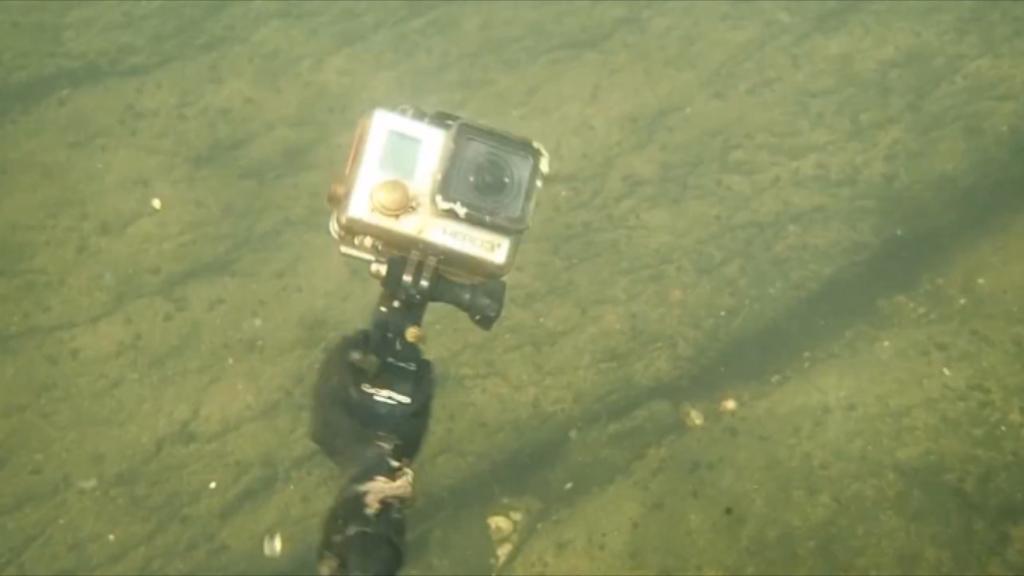 A GoPro. (YouTube/Aquachigger)