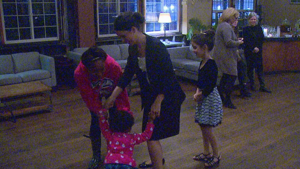 Young attendees on the dance floor. (KOMO)