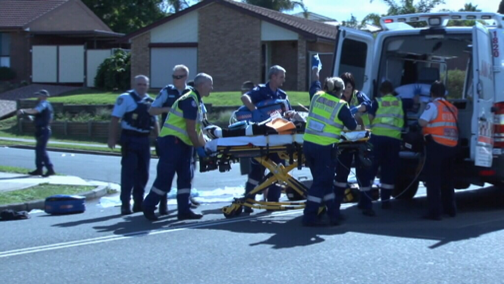 Teenager dead, another critical after being hit by car at Rosemeadow, in Sydney's south west