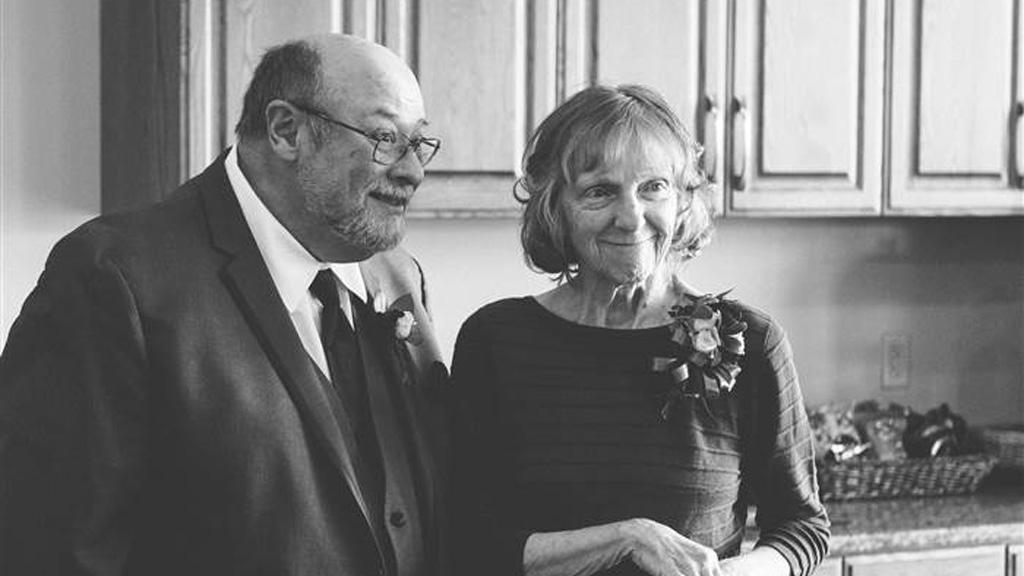 Linda Napolitano and husband Umberto. (Gravidee Designs)
