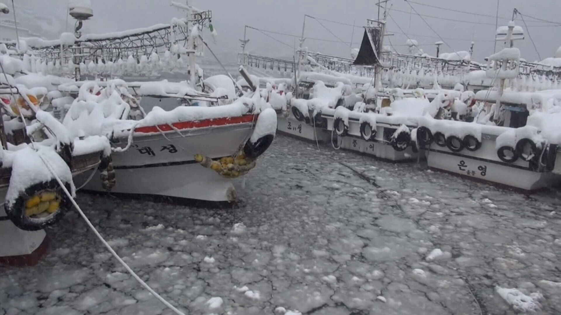 Record low temperatures and snow cause death throughout Asia