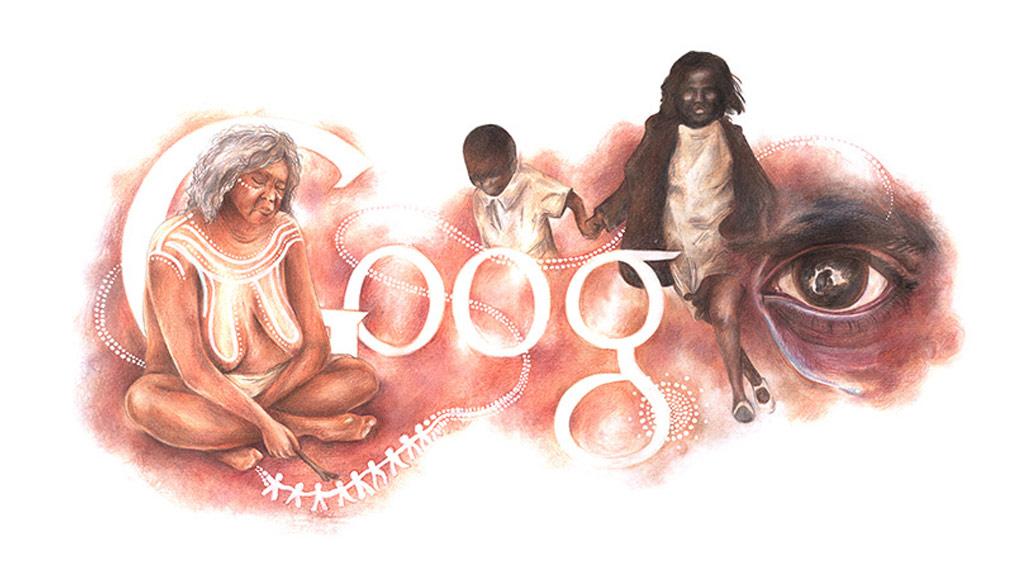 Ineka Voigt's winning Google Doodle design. (Google/Ineka Voigt)