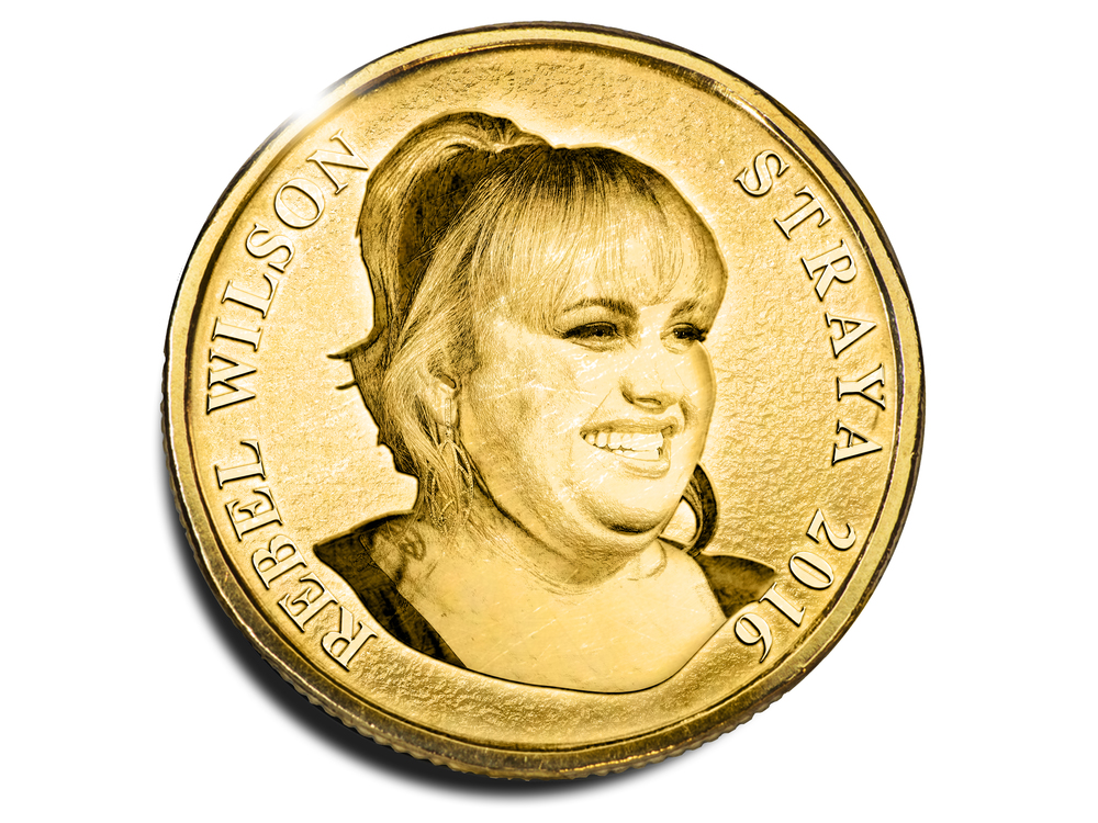 From Fat Pizza to Pitch Perfect, comedian Rebel Wilson has come a long way. (Aaron Tyler)