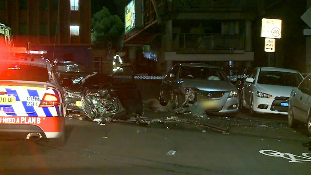 The crash happened on Elswick St. (9NEWS)
