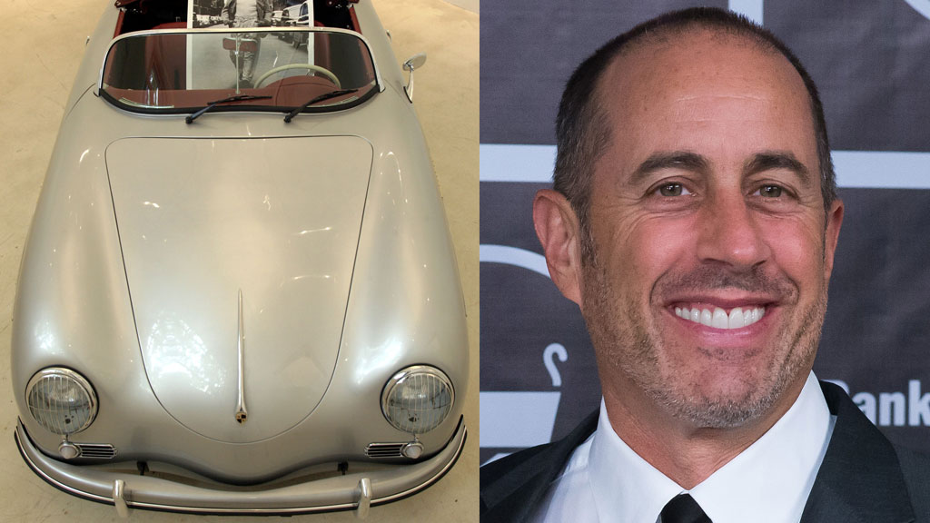 Jerry Seinfeld set to bank AU$14.2 million from rare Porsche sale