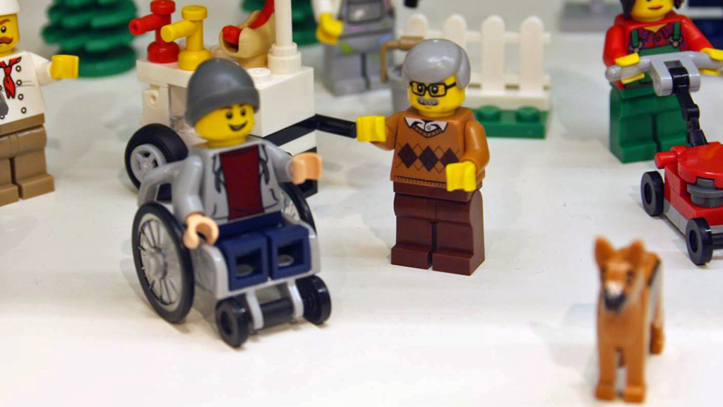 Lego reveals first minifigure with a disability