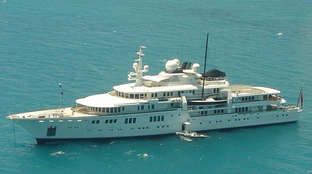 Paul Allen accused of destroying protected coral reef with yacht