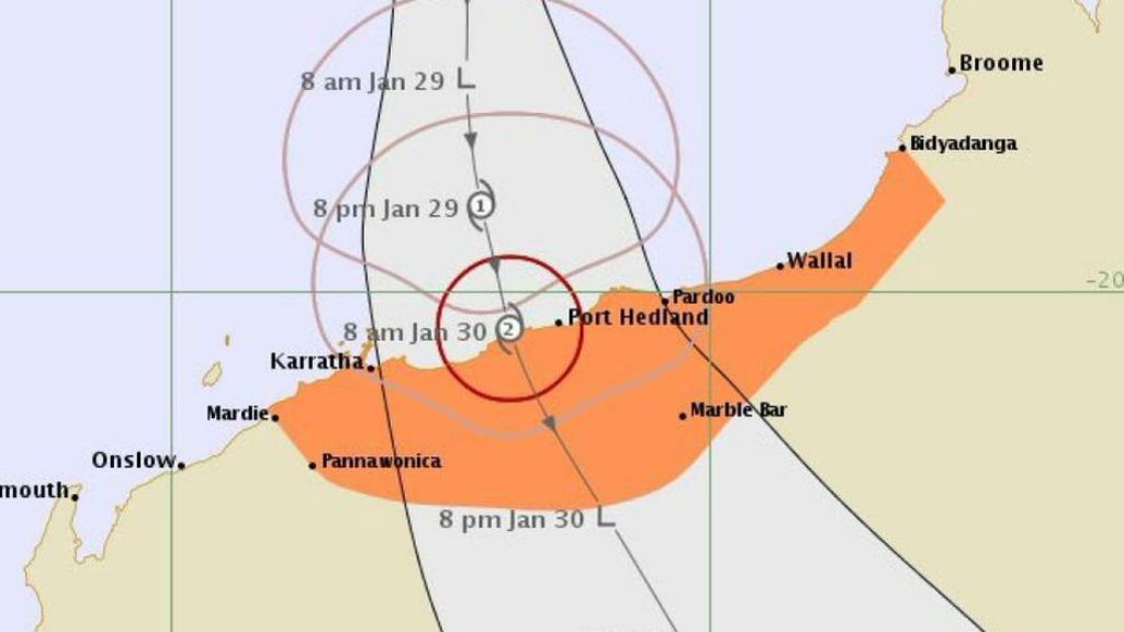 Tropical cyclone Stan has formed north of WA and is likely to cross the coast as a category two tomorrow