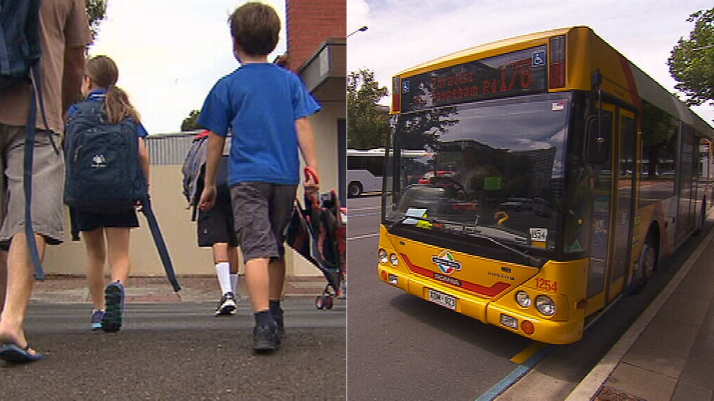 Upper House Greens MP Mark Parnell has called on the City of Adelaide to extend free Metro bus, train and tram services to school children. (9NEWS)