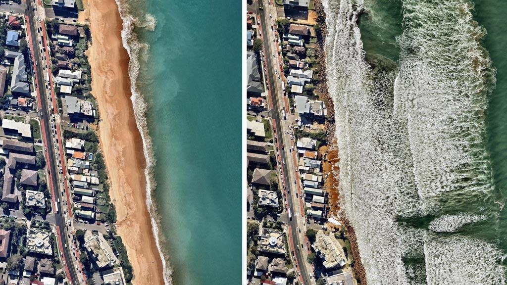 Collaroy Beach. (Nearmap)