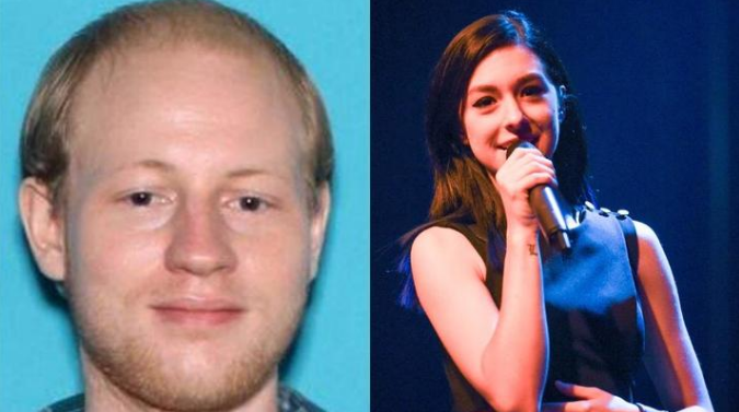 Kevin Loibl (left) had travelled 160km to murder Grimmie.