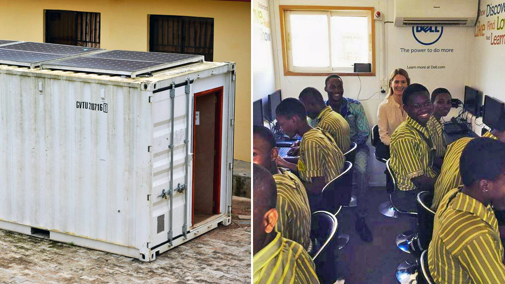 Revolutionary box provides internet to remote communities in order to 'break a cycle of exclusion'