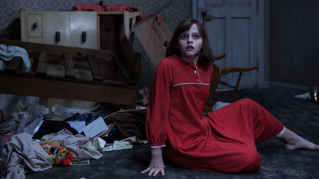 A scene from The Conjuring 2.
