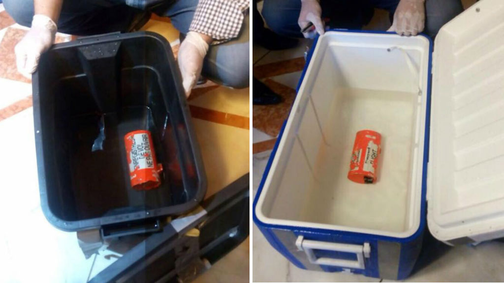 The two blackboxes recovered from downed EgyptAir flight MS804 are damaged. (AAP)