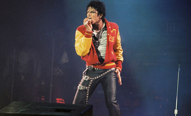Jackson on stage in 1986. (Getty)