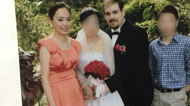 Barrett was married to Ms Leng's aunt, and she had been living at his home at the time of her murder.