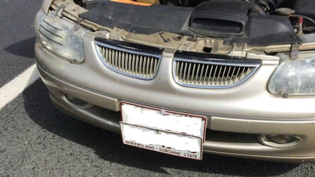 Man charged over high-speed pursuit, velcroing plates onto car in NSW