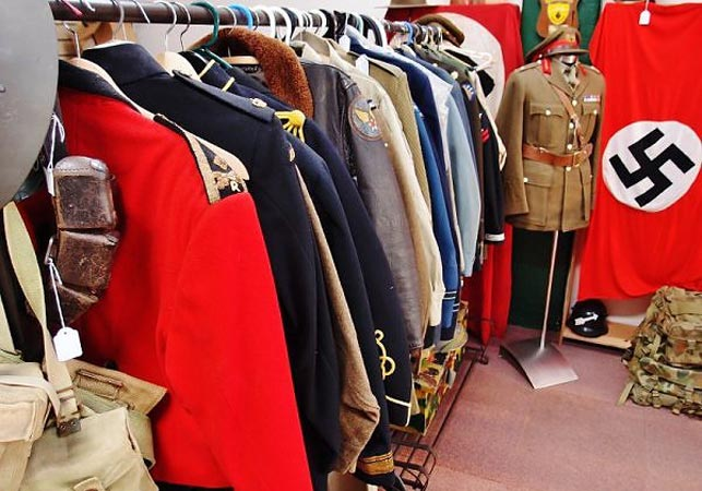 Some of the items for sale. (JB Military Antiques)