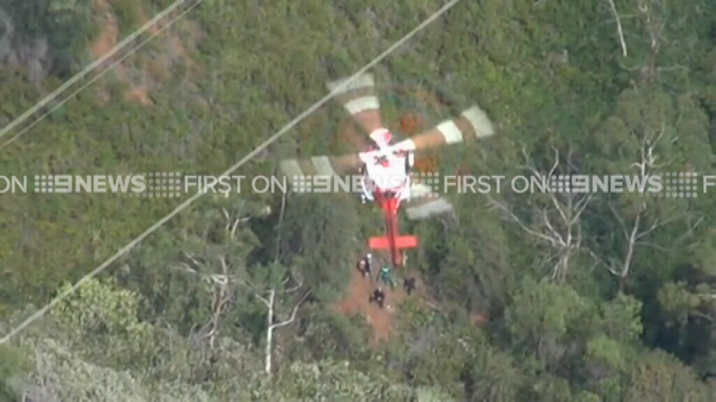 South Australian man rescued after falling down remote embankment
