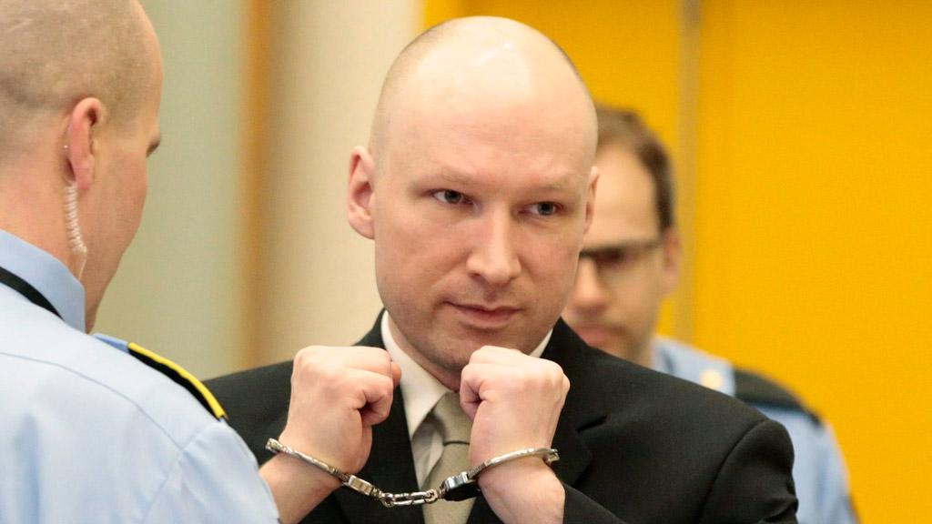 Norwegian mass murderer Breivik compares prison meals to torture