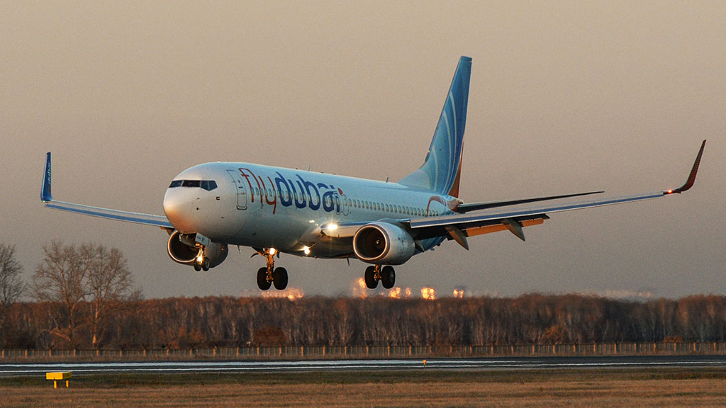 A passenger jet, similar to the one pictured, has crashed on landing in Russia. (AFP)