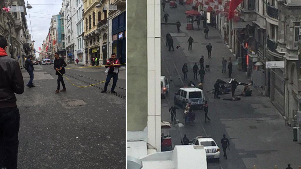 Suicide bombing kills five, injures dozens in Istanbul