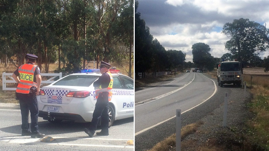 Driver dies in serious crash outside Mount Pleasant in Adelaide Hills region