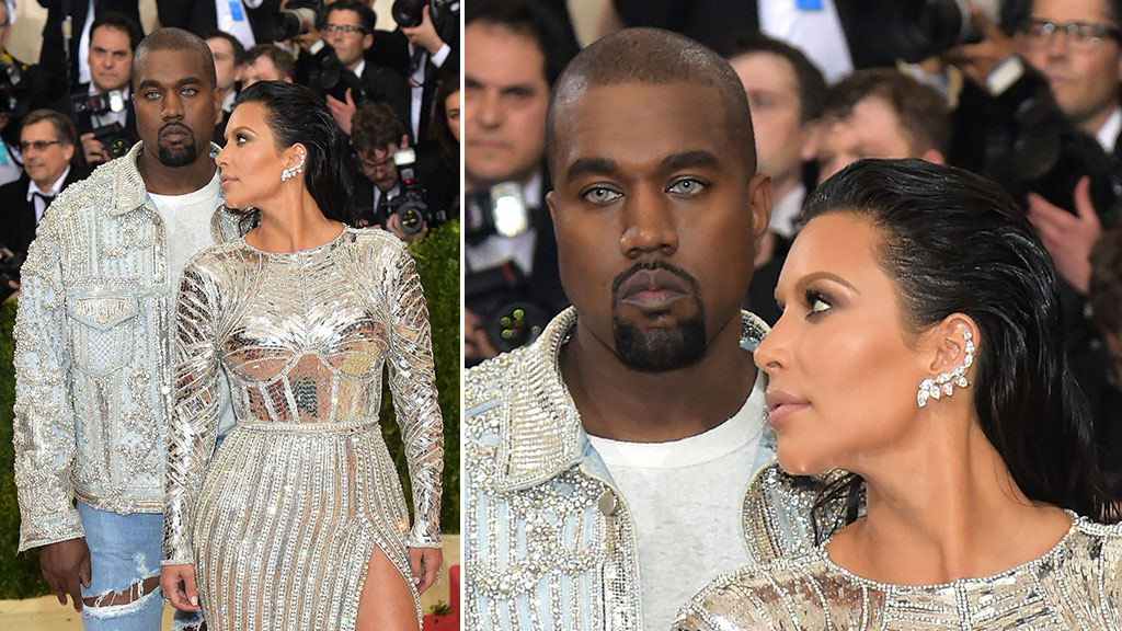"""<p>Rapper Kanye West has been the subject of incredulity after he turned up at the 2016 Met Gala in New York sporting an unusual pair of contacts.<br><br>Accompanied by wife, model Kim Kardashian, West was quizzed by an array of red carpet journalists over his peculiar choice of eyewear.<br><br>He responded with a single word – """"Vibes"""" – before exiting the interview.<br><br>West has appeared previously with the same """"wolf-like"""" contacts while performing his single """"Wolves"""" at the SNL 40th Anniversary Special back in February.<br><br>The Met Gala is an annual fundraising gala held in New York City for the benefit of the Metropolitan Museum of Art's Costume Institute.<br><br>The theme of this year's gala is """"Manus x Machina: Fashion in an Age of Technology"""".<strong></strong></p><p><strong>Click through for more examples of the dazzling dresses on display at this year's gala.</strong></p>"""