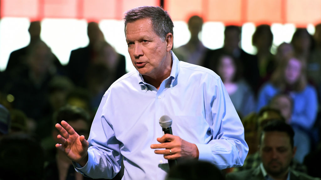 Republican candidate John Kasich has suspended his presidential campaign. (AAP)