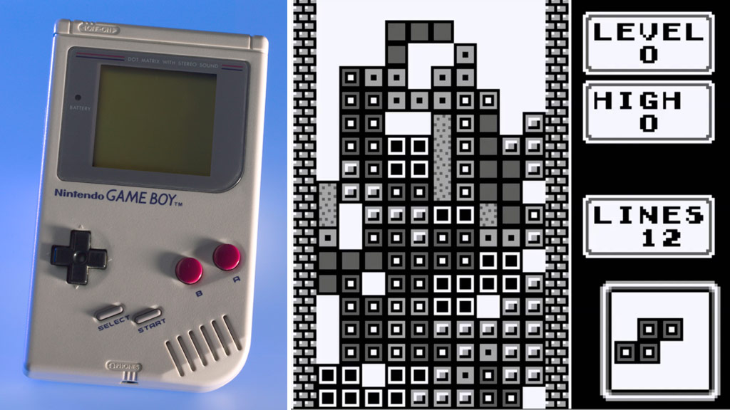 Tetris was a Nintendo Game Boy launch title in 1989. (Getty/The Tetris Company)