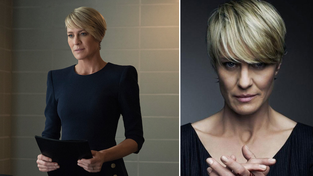'House of Cards' star Robin Wright channels Claire Underwood to win equal pay