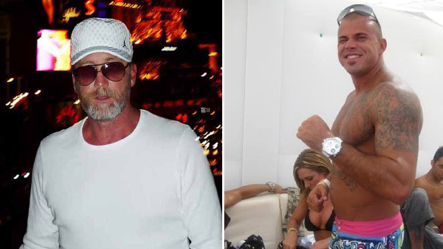 R.J. Cipriani (left) claims he was targeted by Owen Hanson (right) and his crew after an ill-fated gambling session at Sydney's Star City casino. Source: Supplied.