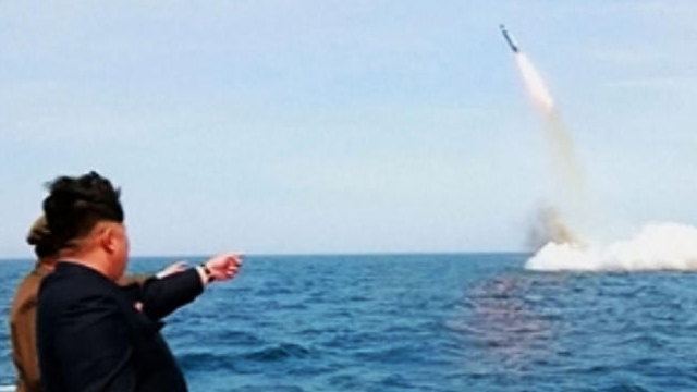 Kim Jong-un is believed to want to be able to deploy a missile-capable submarine into the Pacific Ocean as an additional threat to the United States.