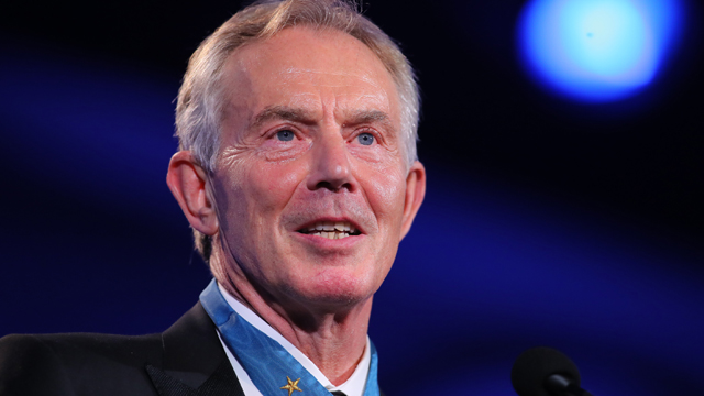 Blair denies Trump job talks report