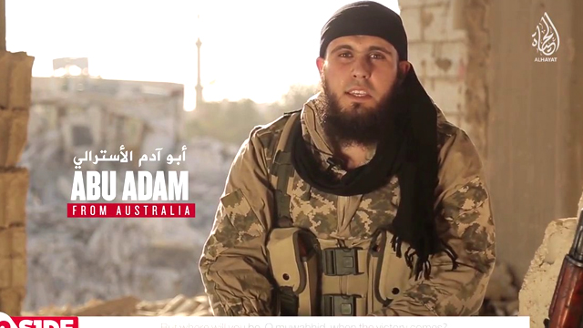 Abu Adam al-Australi calls on Australian ISIS supporters to travel to the Philippines, where a growing insurgency is of increasing concern to governments in South-East Asia. (Supplied)