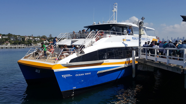 Fast ferry crash at Manly leaves 'hole' in boat and passengers injured