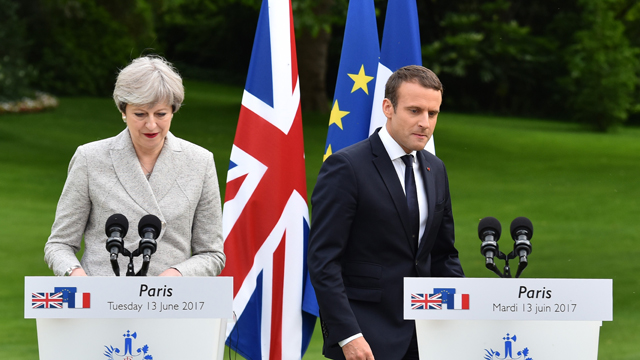 Macron says 'door always open' for UK to stay in EU