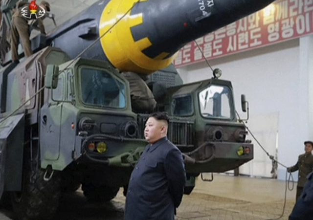 North Korea has said through state media that it has no choice but to advance its nuclear and missile development to defend itself from attack.