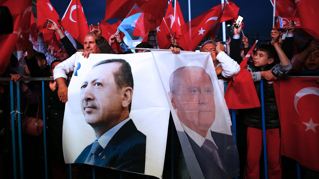 Turkey's PM declares victory in referendum giving President sweeping new powers