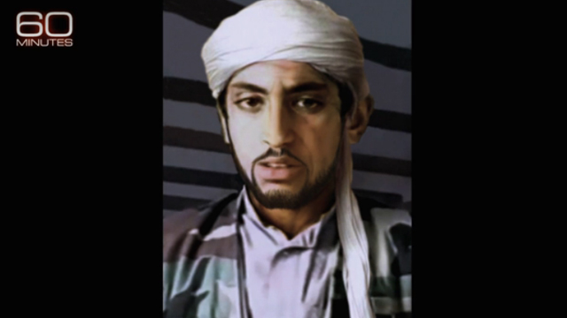 Hamza bin Laden is believed to be in his late 20s; 60 Minutes produced a computer image to predict what he might look like in 2017. Source: CBS