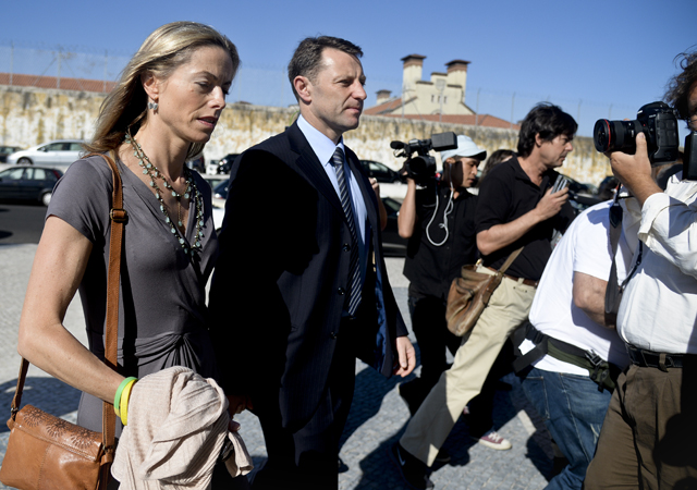 The McCanns were involved in a long-running, bitter court battle with a Portuguese detective who wrote a book saying the parents had disposed of their daughter's body. Source: AFP